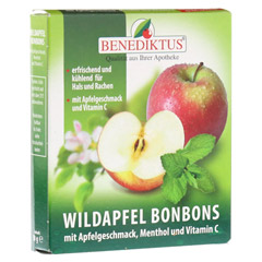 WILDAPFEL Bonbons mit Menthol + Vitamin C 50 Gramm
