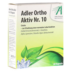 ADLER Ortho Aktiv Kapseln Nr.10 60 Stück