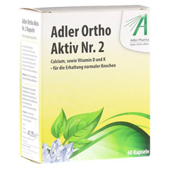 ADLER Ortho Aktiv Kapseln Nr.2 60 Stück