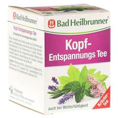 BAD HEILBRUNNER Kopf-Entspannungstee Filterbeutel 8x2.0 Gramm