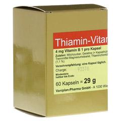 THIAMIN Kapseln Vitamin B1 60 Stück