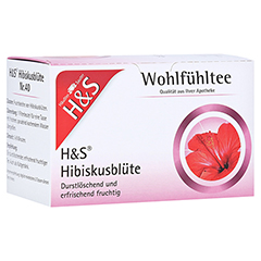 H&S Hibiskusblüte Filterbeutel 20 Stück