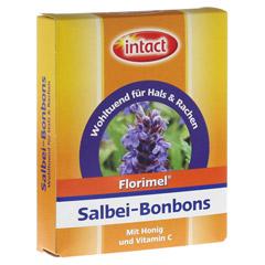 FLORIMEL Salbeibonbons m.Vitamin C 50 Gramm