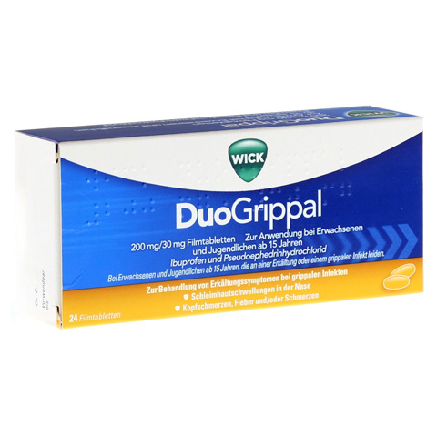 WICK DuoGrippal 200mg/30mg 24 Stück