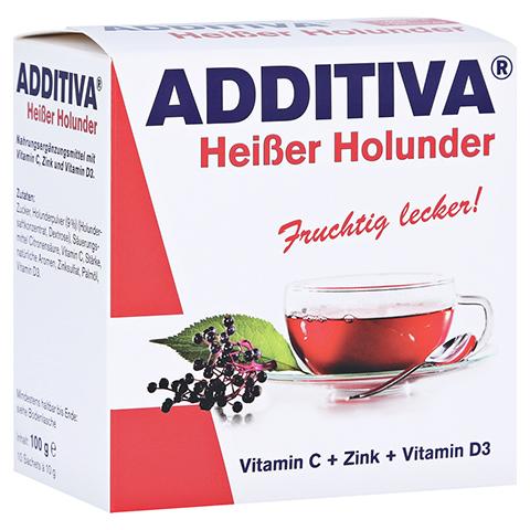 ADDITIVA heißer Holunder Pulver 100 Gramm
