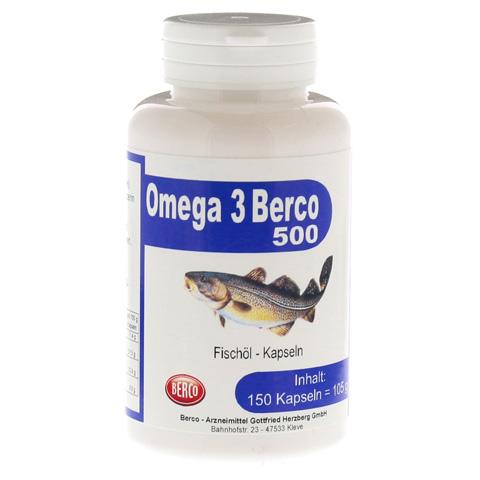 OMEGA 3 Berco 500 Kapseln 150 Stück