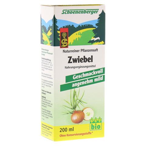 ZWIEBELSAFT naturrein Schoenenberger 200 Milliliter