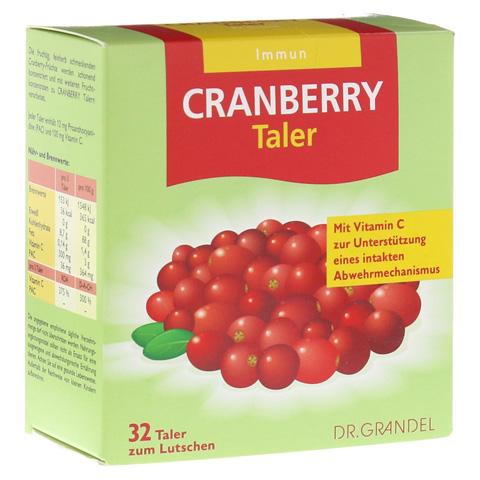 Cranberry Cerola Taler Grandel 32 Stück