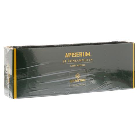 APISERUM Trinkampullen mit Gelee Royale 24x5 Milliliter
