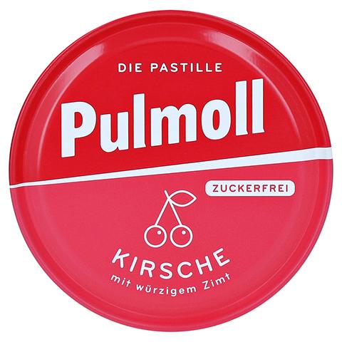 PULMOLL Hustenbonbons Wildkirsch+Vit.C zuckerfrei 50 Gramm