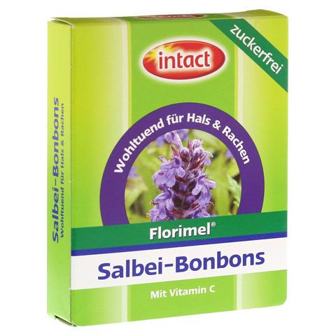 FLORIMEL Salbeibonbons m.Vitamin C zuckerfrei 40 Gramm