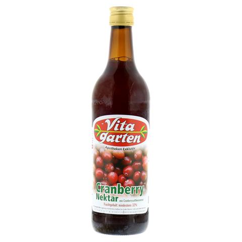 VITAGARTEN Cranberry Nektar 750 Milliliter
