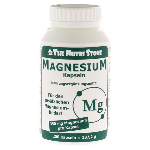 MAGNESIUM 350 mg Kapseln 200 Stück
