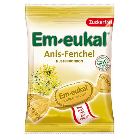 EM EUKAL Bonbons Anis Fenchel zuckerfrei 75 Gramm