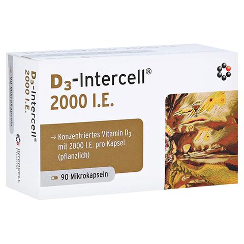 D3-INTERCELL 2.000 I.E. Kapseln 90 Stück