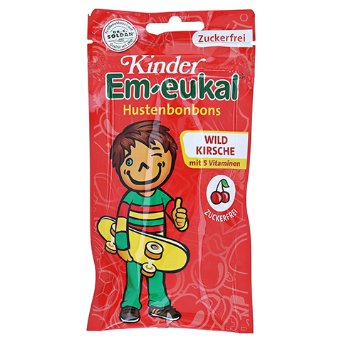 EM EUKAL Kinder Bonbons ohne Zucker 75 Gramm