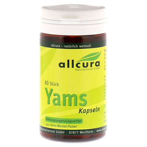 YAMS Kapseln 250 mg Yamspulver 60 Stück