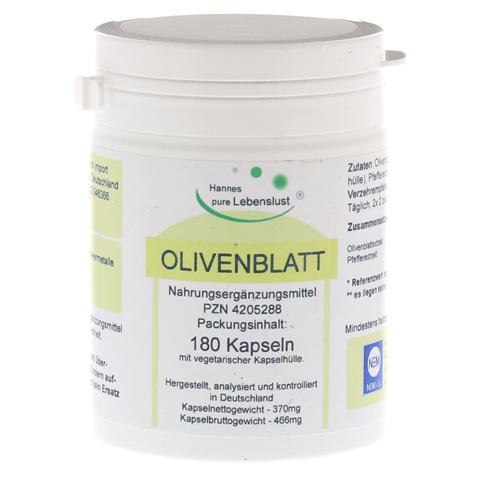 OLIVENBLATT-Extrakt Vegi Kapseln 180 Stück