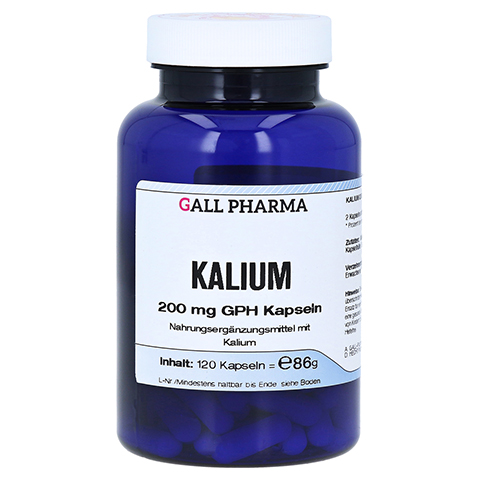 KALIUM 200 mg GPH Kapseln 120 Stück