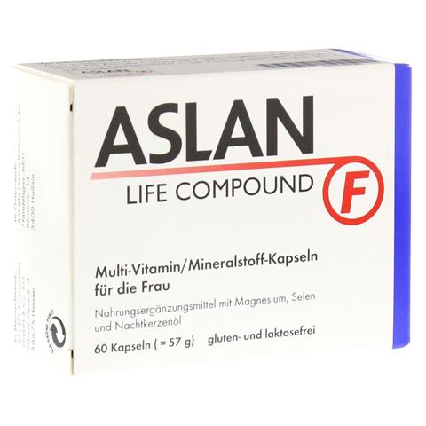 ASLAN Life Compound F Kapseln 60 Stück