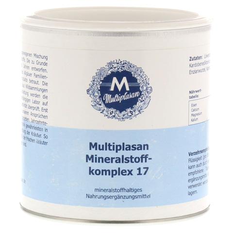 MULTIPLASAN Mineralstoffkompex 17 Pulver 300 Gramm