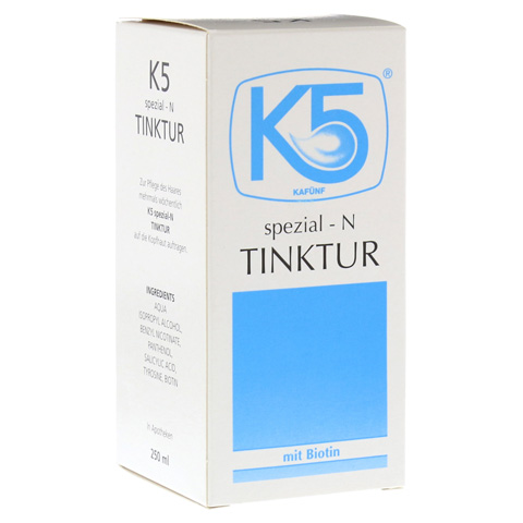 K 5 Spezial N Tinktur 250 Milliliter