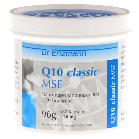 Q10 MSE Kapseln 30 mg 360 Stück
