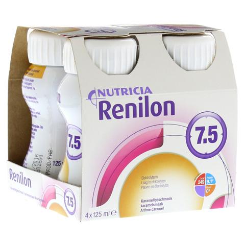 RENILON 7.5 Karamelgeschmack flüssig 4x125 Milliliter