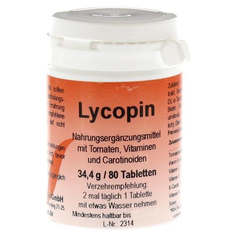 LYCOPIN TABLETTEN 80 Stück
