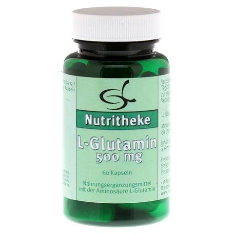 L-GLUTAMIN 500 mg Kapseln 60 Stück