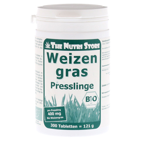 WEIZENGRAS 400 mg Bio Presslinge 300 Stück