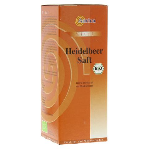HEIDELBEER 100% Direktsaft Bio 500 Milliliter