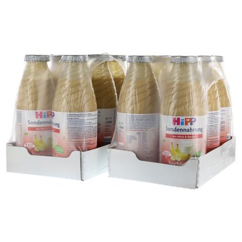 HIPP Sondennahrung Milch Banane hochkalor. 12x500 Milliliter