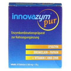 INNOVAZYM pur magensaftresistente Tabletten 50 Stück - Vorderseite