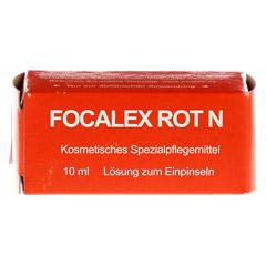 FOCALEX rot Tinktur 10 Milliliter - Vorderseite