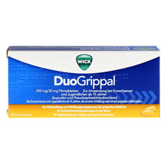 WICK DuoGrippal 200mg/30mg 24 Stück - Vorderseite