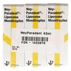 NEYPARADENT Liposome Mundtropfen 45 Milliliter - Vorderseite