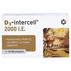D3-INTERCELL 2.000 I.E. Kapseln 90 Stück - Vorderseite