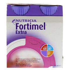 FORTIMEL Extra Waldfruchtgeschmack 4x200 Milliliter - Vorderseite