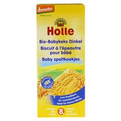HOLLE Bio Baby Dinkel Keks 150 Gramm - Vorderseite