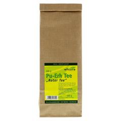 PU ERH Tee Roter Tee 100 Gramm - Vorderseite