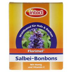 FLORIMEL Salbeibonbons m.Vitamin C 50 Gramm - Vorderseite