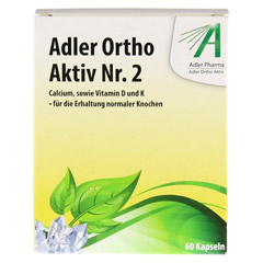 ADLER Ortho Aktiv Kapseln Nr.2 60 Stück - Vorderseite
