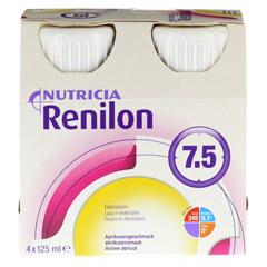 RENILON 7.5 Aprikosengeschmack flüssig 6x4x125 Milliliter - Vorderseite