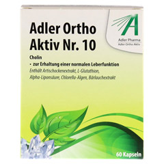 ADLER Ortho Aktiv Kapseln Nr.10 60 Stück - Vorderseite