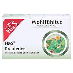 H&S Kräutertee Mischung Filterbeutel 20 Stück - Vorderseite