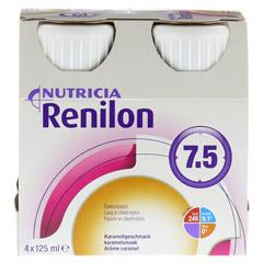 RENILON 7.5 Karamelgeschmack flüssig 4x125 Milliliter - Vorderseite