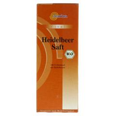 HEIDELBEER 100% Direktsaft Bio 500 Milliliter - Vorderseite