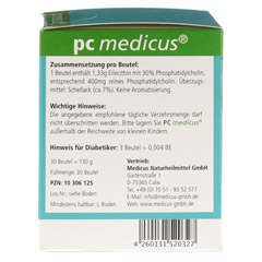 PC MEDICUS Granulat 30 Stück - Linke Seite