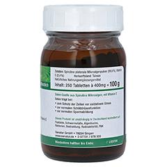 SPIRUSELEN Selen Spirulina Nahrungserg. Tabletten 250 Stück - Linke Seite